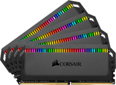 Оперативная память 64Gb DDR4 3600MHz Corsair Dominator Platinum RGB (CMT64GX4M4K3600C18) (4x16Gb KIT)