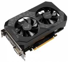 Видеокарта GeForce GTX1650 ASUS PCI-E 4096Mb (TUF-GTX1650-O4GD6-GAMING)