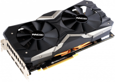 Видеокарта nVidia GeForce RTX2060 Inno3D Gaming OC X2 PCI-E 6144Mb (N20602-06D6X-17311165)
