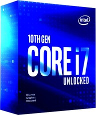 Процессор Intel Core i7 - 10700KF BOX (без кулера)