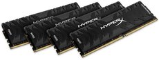 Оперативная память 128Gb DDR4 3200MHz Kingston HyperX (HX432C16PB3K4/128) (4x32Gb KIT)