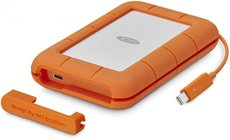 Внешний жесткий диск 4Tb LaCie Rugged Thunderbolt USB-C (STFS4000800)