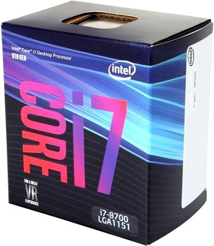 Процессор Intel Core i7 - 8700 BOX