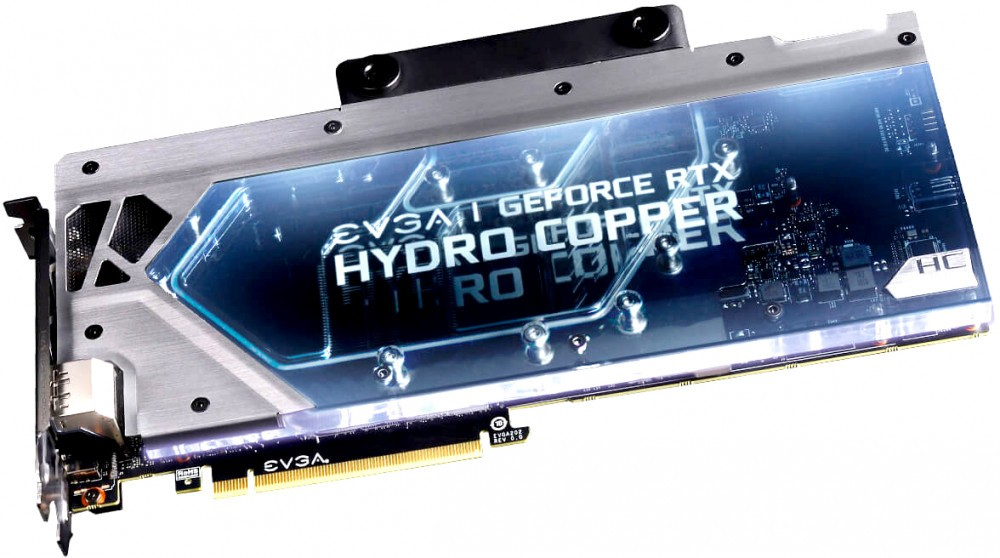 Видеокарта nVidia GeForce RTX2080 Ti EVGA FTW3 ULTRA HYDRO COPPER GAMING PCI-E 11264Mb (11G-P4-2489-KR)