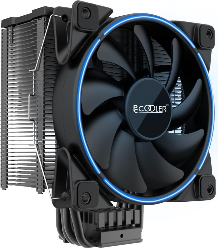 Кулер PCcooler GI-X6B V2 Blue LED