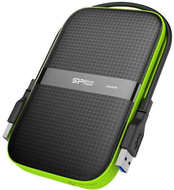 Внешний жесткий диск 3Tb Silicon Power Armor A60 Black (SP030TBPHDA60S3K)